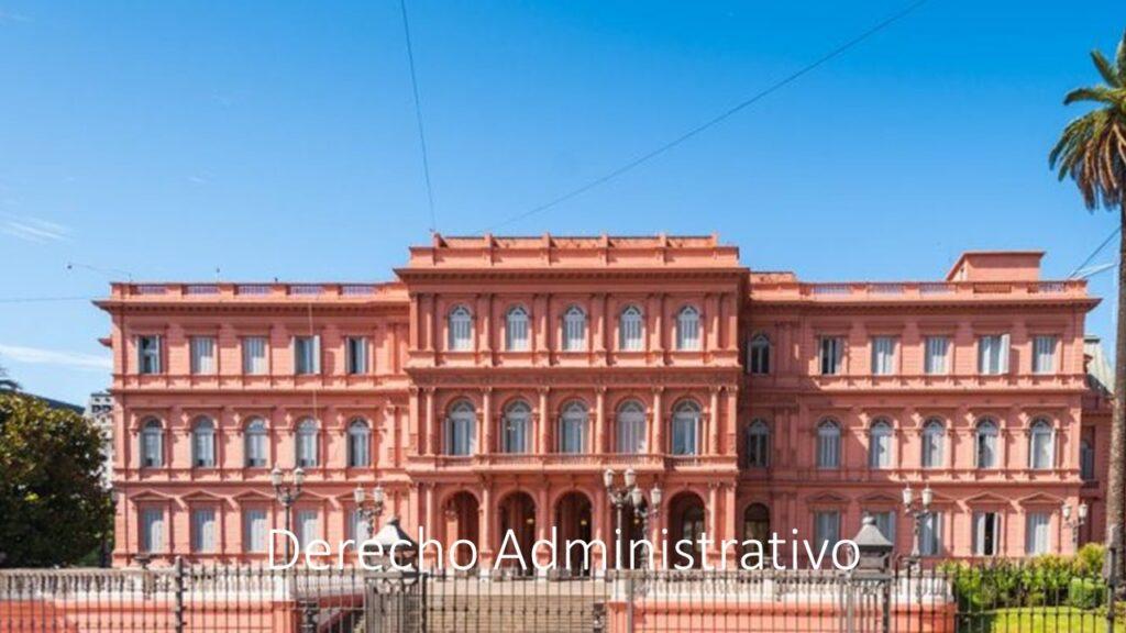 Derecho administrativo Argentina